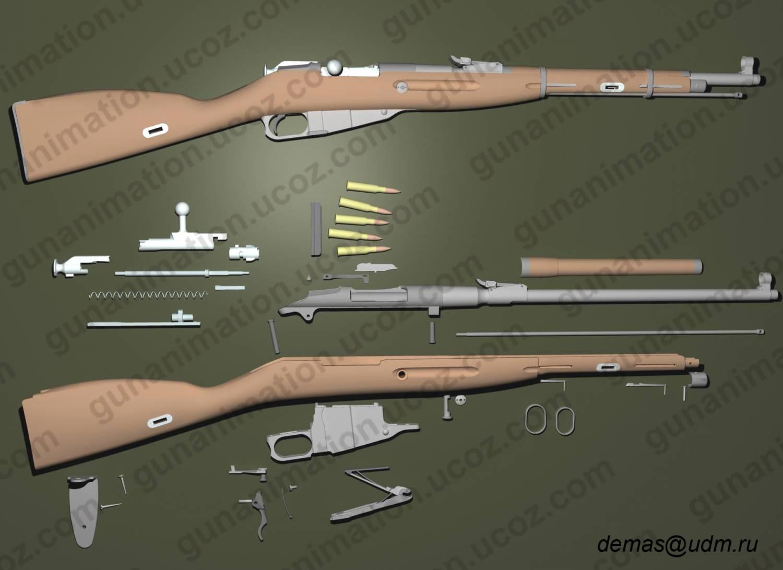 Как сделать винтовку мосина из дерева своими руками